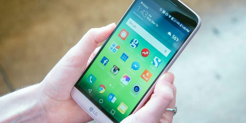 Add an app drawer to the LG G5