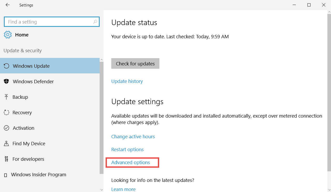 stop Windows 10 from uploading updates to other computers