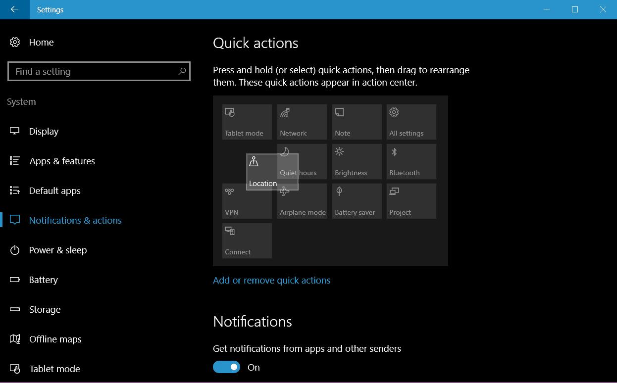 windows-10-rearrange-quick-action-icons
