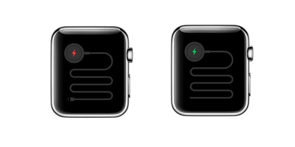 Apple Watch stuck on charging screen