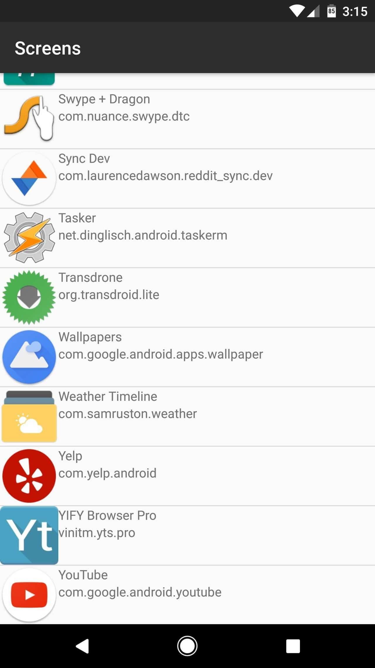 automatically launch two apps at once in Android Nougat