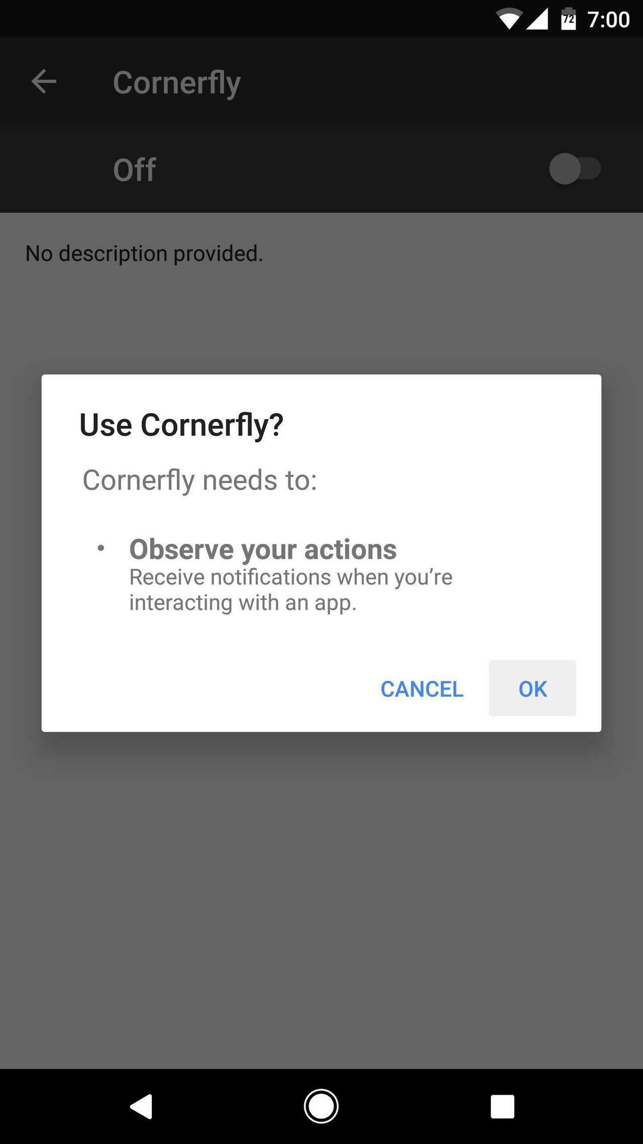 get rounded corners on Android screen