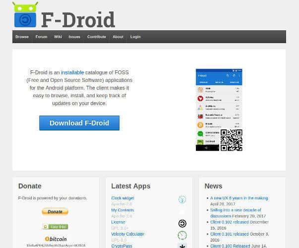 Google Play alternatives Android