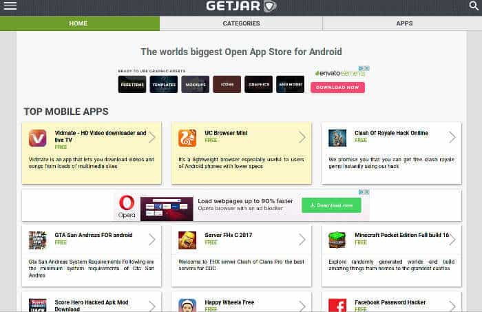 third-party alternatives to Google Play Store