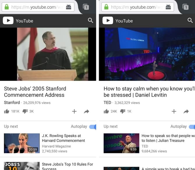 play YouTube videos in the background on Android
