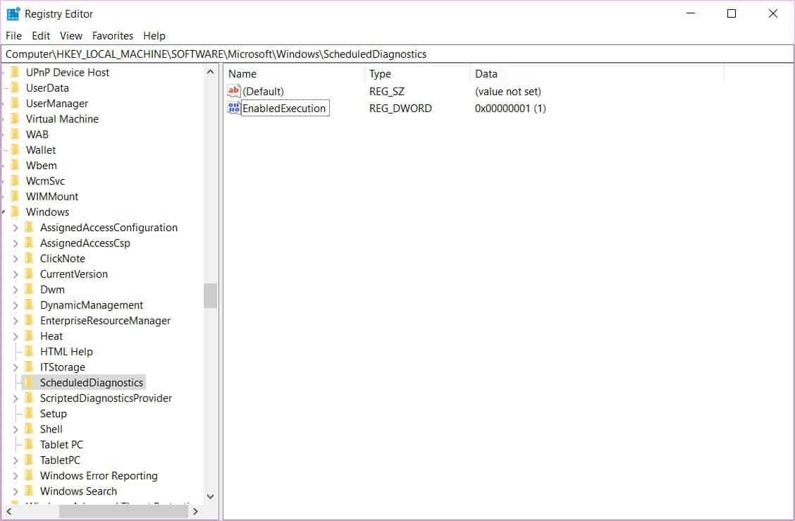 disable automatic computer maintenance in Windows 10