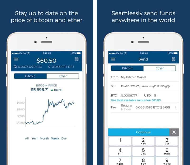 best iOS Bitcoin wallet apps