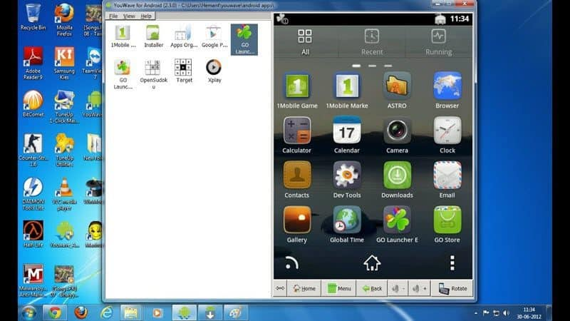 emulate Android apps and games on Mac