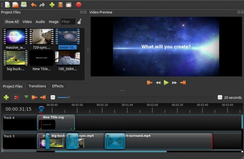 top free video editing software