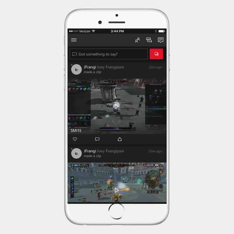 sync your phone with Xbox One